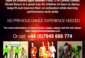 Street Dance Workshop for Kids - Back