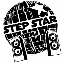 StepStep Logo - Black-White